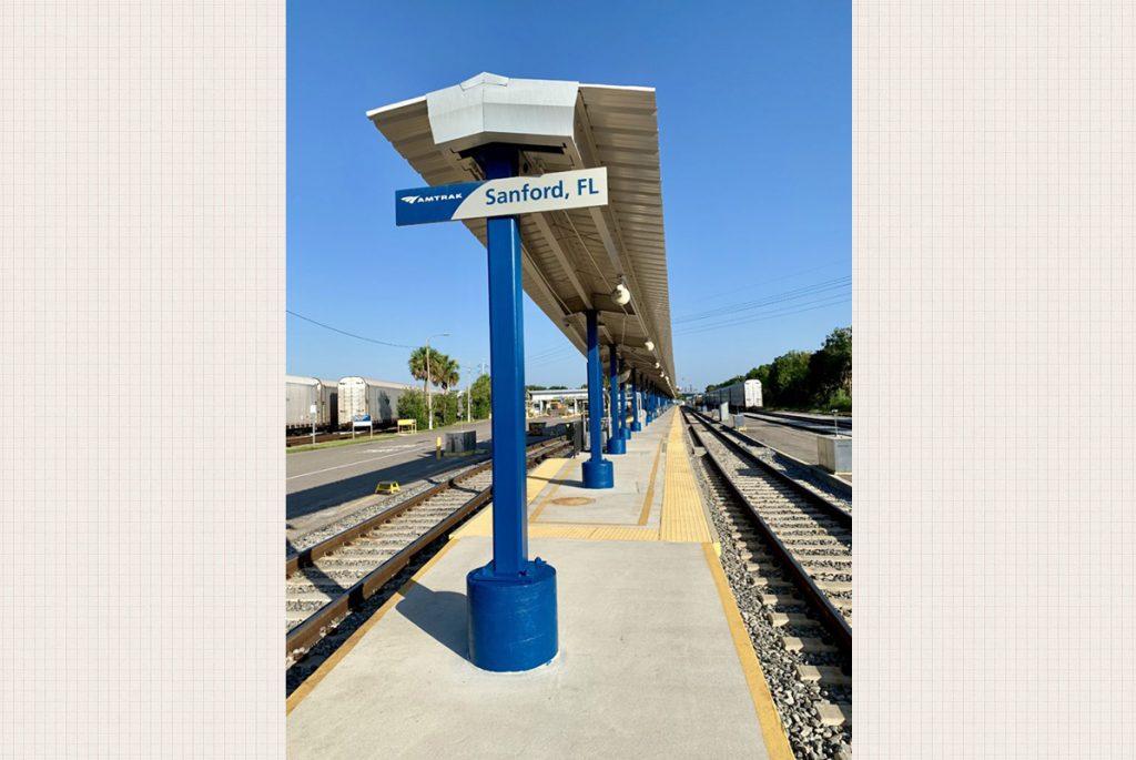 Amtrak Train Station Platform Refurbishment