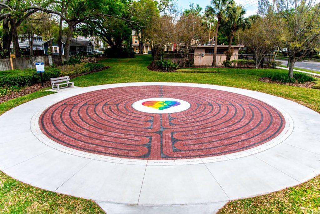 City of Orlando Pulse Labryinth