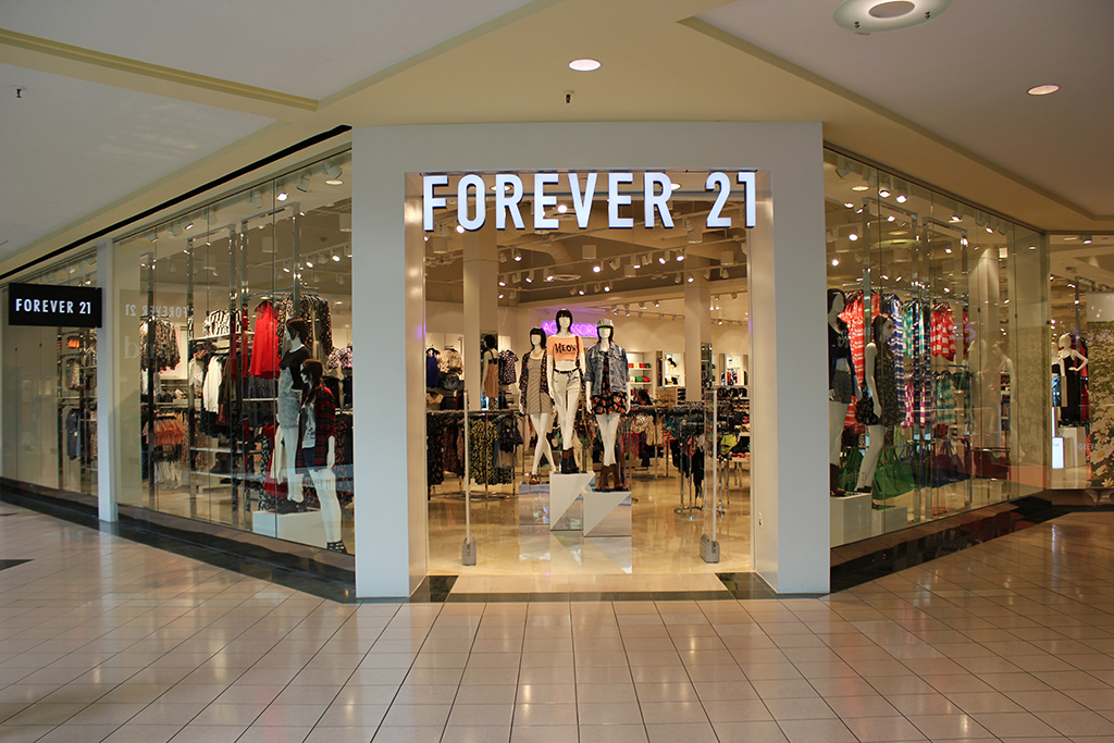 Forever 21 Tenant Buildout