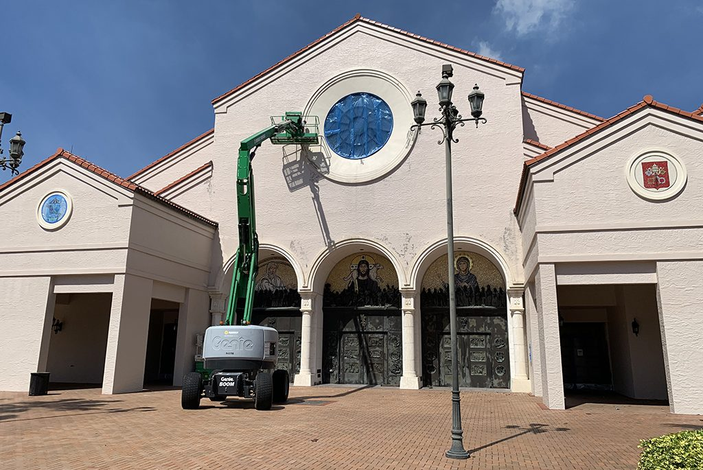 Mary Queen of the Universe Basilica Renovation