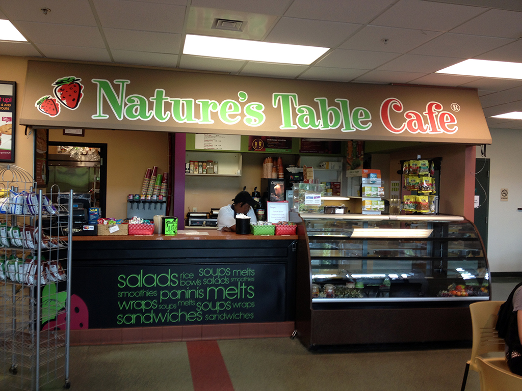 Nature's Table Cafe Tenant Buildout