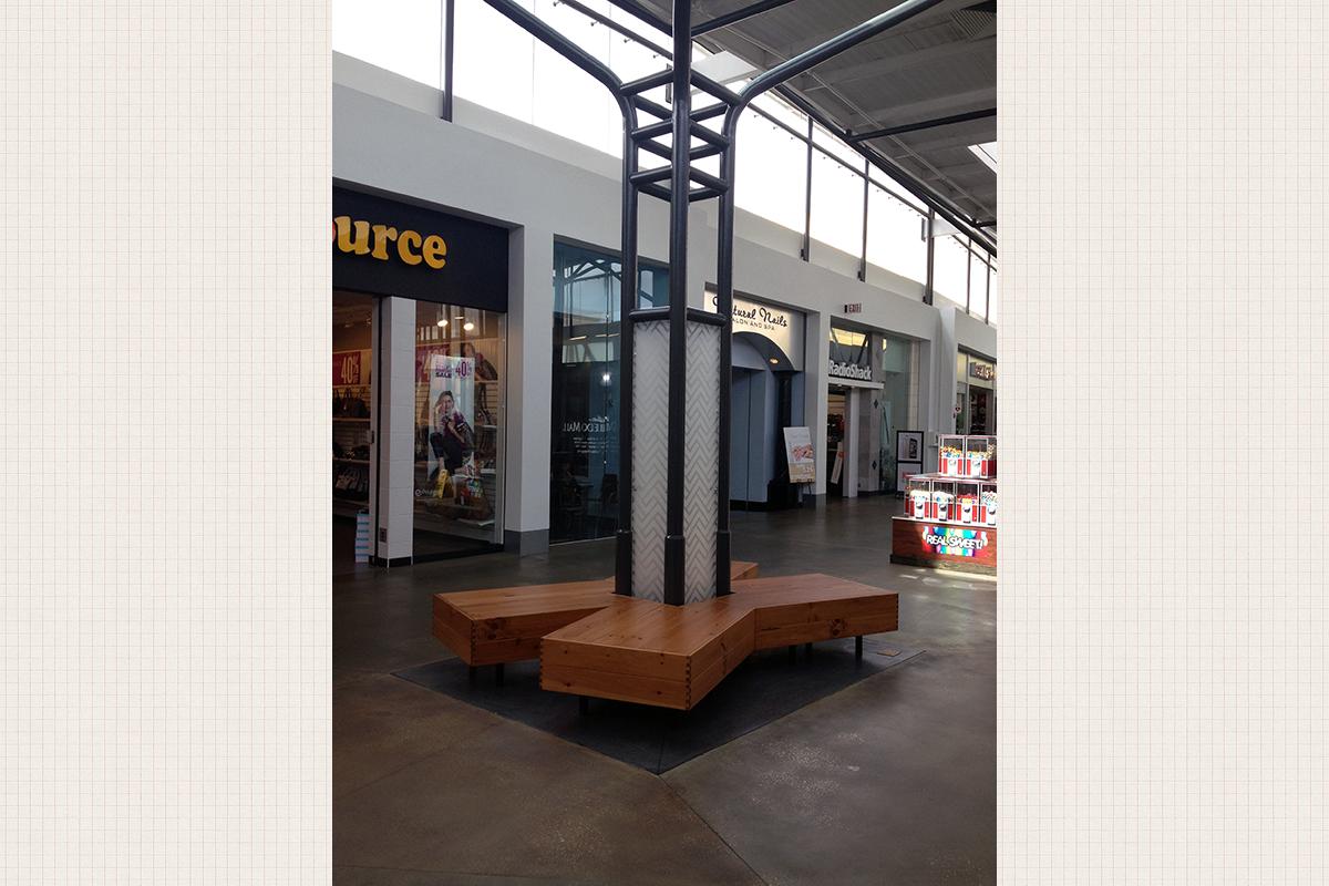Oviedo Mall Pedestrian Seating Project