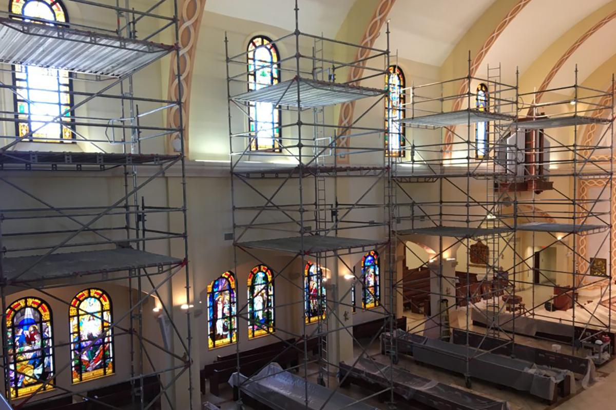 St. James Basilica Renovation