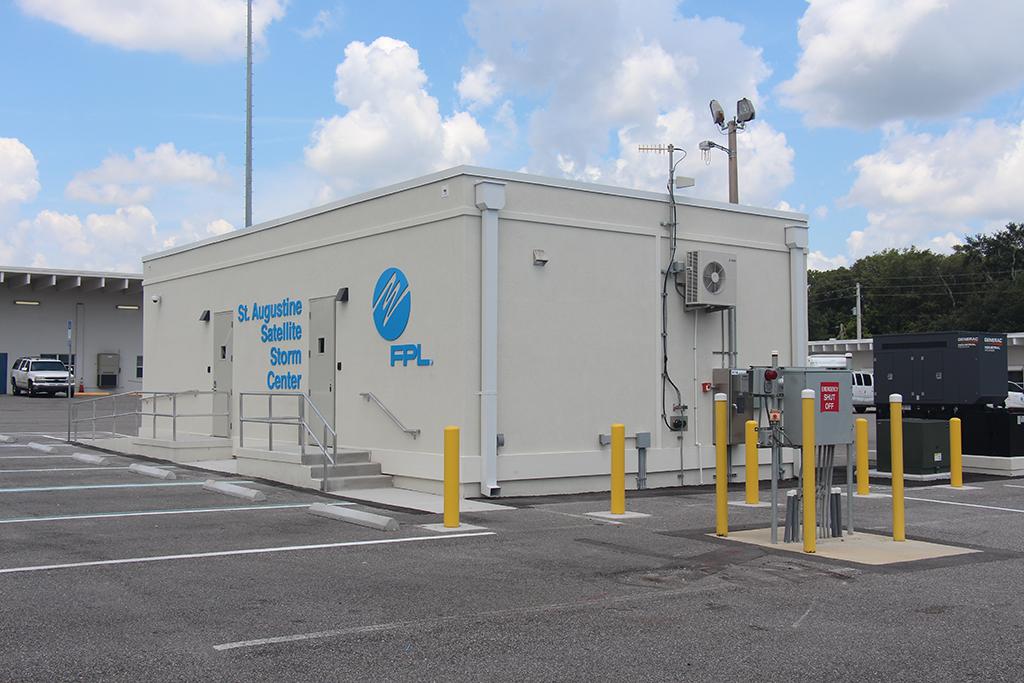 Florida Power and Light Storm Center