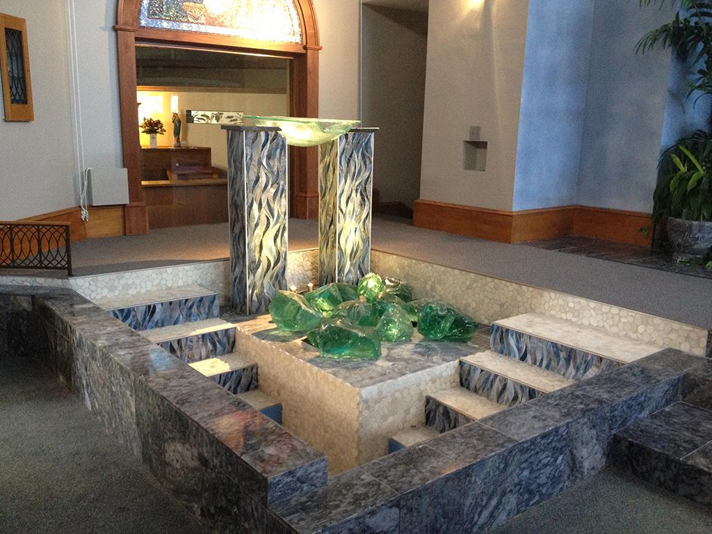 St Stephens Baptismal Fountain