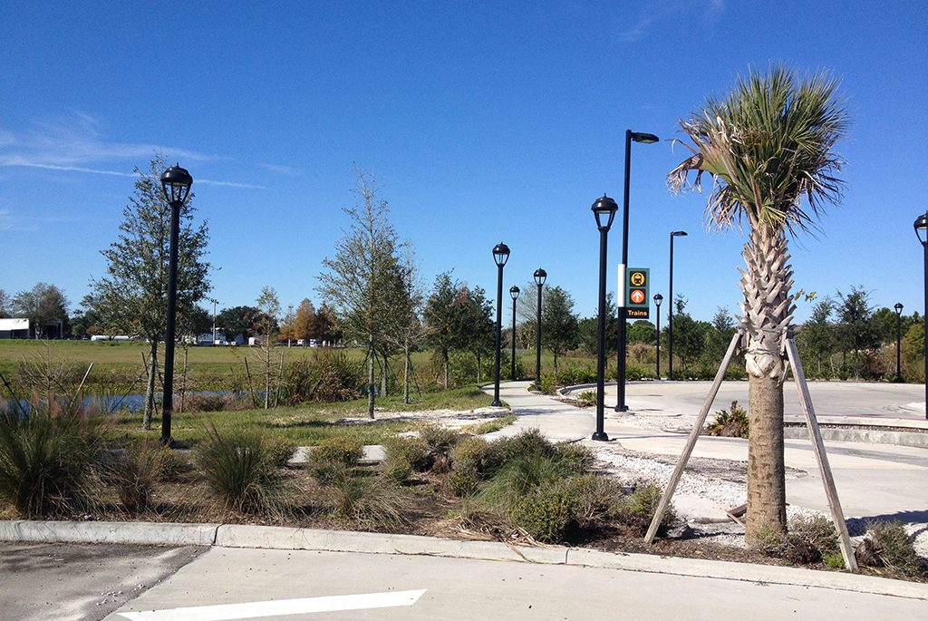City of Sanford SunRail Landscaping and Parking Lot